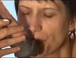 Sperme plein la bouche 01